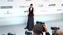 Barbara Palvin arriving at Amfar gala 2014 Cannes