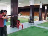 Shooting Range - THAI Shooting(12g Beretta semi-automatic shotgun)