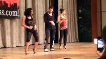 Eddie Torres shine workshop New York Salsa Congress 2014 feat. Eddie Torres Jr.