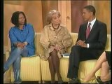 Barack Obama discusses Rev. Wright on The View