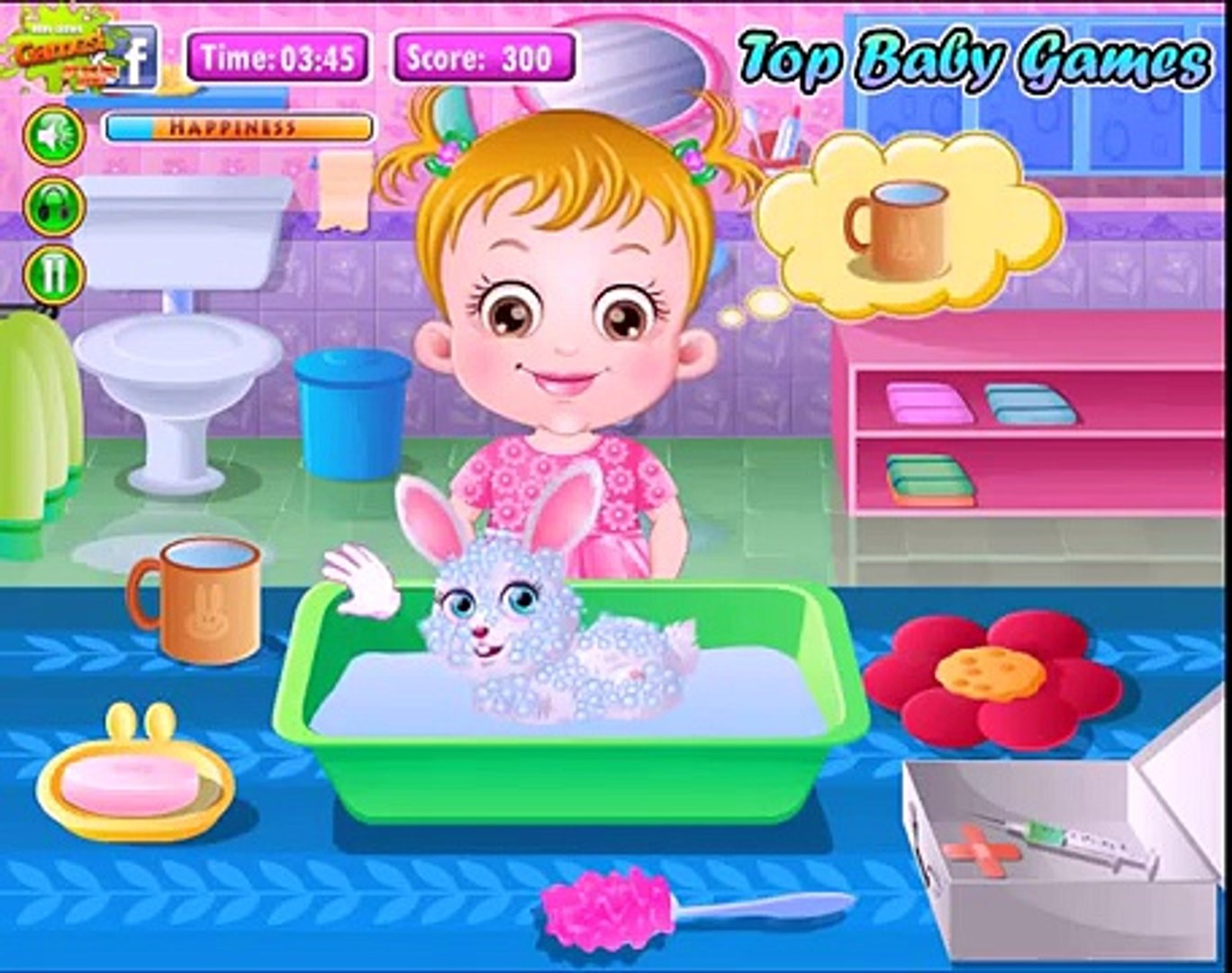 Baby Hazel Pet care, Animal HAZEL baby video game for girls and baby  Cartoon Full Episodes