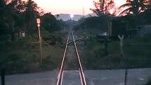 Ferrocarril Sureste Matías Romero Ferrosur (XVI) tren entrando a los patios de Matías Romero, Oaxaca