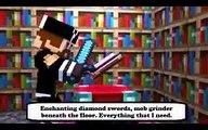 Wrecking mob (parody wrecking ball)minecraft lyrics