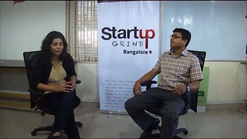 Shradha Sharma (YourStory.in) at Startup Grind Bangalore