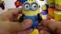 Play Doh Surprise Eggs Peppa Pig Frozen Spongebob Kinder Surprise Eggs Minions