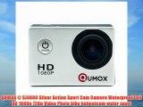 QUMOX @ SJ4000 Silver Action Sport Cam Camera Waterproof Full HD 1080p 720p Video Photo bike
