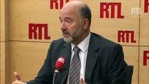 """Crise des migrants : Pierre Moscovici évoque son """"admiration pour l'attitude d'Angela Merkel"""""""