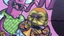 CorfuTimes - (Paf ) Pelekas Art Festivals 4ο  Graffiti & Music Festival 2008 Corfu Greece