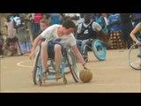 Démonstration de Basket Fauteuil / Wheelchair Basketball Demonstration Match