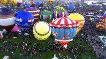 World's largest hot-air balloon festival gets underway in Albuquerque, USA