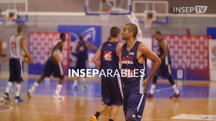 INSEParables : Tony Parker & Boris Diaw