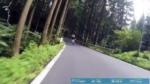 Descending Yamabushi Pass 山伏峠 - GoPro Cycling - Rides of Japan