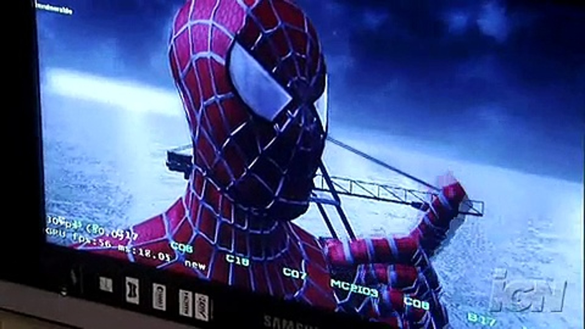 Behind the scenes of Spiderman 3 the game High Quality (IGN)