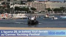 L'Iguana 29, le bateau tout-terrain exposé au Yachting Festival de Cannes