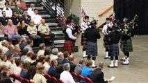 Bagpipes at Ruhl Memorial Service