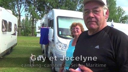 """Guy et Jocelyne, camping-caristes : """"Nous sommes les parrains d'une vache"""""""