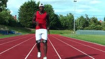 Carlin Isles Training Sprint Mechanics with Speed Bands | Instant Speed