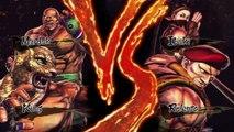 Street Fighter X Tekken: King/Marduk vs. Rolento/Ibuki - Rival Battle   PS3 Gameplay