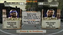 AND 1 Streetball   Xbox   1080p HD   STREET HEAT   Sik Wit It vs Hotsauce