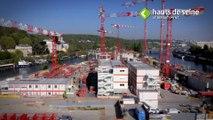 UFLY Drones - Suivi de chantier - Cité Musicale - Ile Seguin - Boulogne