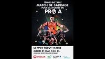 Barrage PRO A - PRO B : Villeneuve / Istres