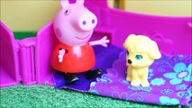 Pig George da Família Peppa Pig Salvando um Gatinho Novelinha em Português