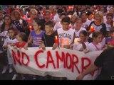 """Napoli - Fiaccolata per Genny: """"No alla camorra"""" (09.09.15)"""