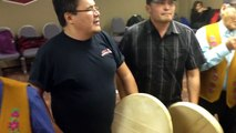 Drum Dancing - Deline Drummers in Yellowknife, Northwest Territories