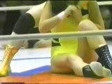 女子プロレス キューティー鈴木vs.エデン馬渕 Female Wrestling