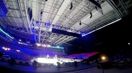 Time Lapse EuroBasket 2015 - Stade Pierre Mauroy Lille Métropole