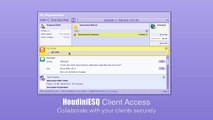 HoudiniESQ Remote Client Access (Use) - legal practice management