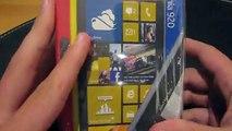 Nokia Lumia 920 Unboxing