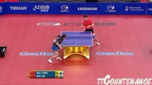 Best table tennis tricks shots ever seen in game! Ma Long