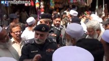 IG KP Nasir Khan Durrani visit to a Market in Kohat and informal talk with the public
