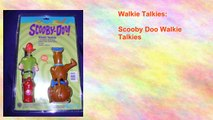 Scooby Doo Walkie Talkies
