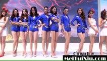 ChinaJoy 2015 - Chinajoy sexy girl show hàng fan MU cực đã mắt