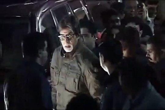 Amitabh Bachchan at the special screening of BOL BACHCHAN