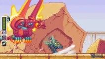 Mega Man Rock Force (Hard Mode Bosses) Justice Castle