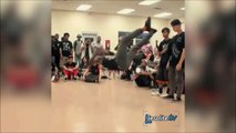 Ce breakdancer est juste ENORME... Battle de danse au top!