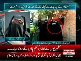 Asiya Andrabi exclusive talk with Express news about protest for banning beef in Indian Occupied Jammu & Kashmir- 11th s