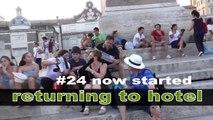 #24 Roma Рим Rome - Italia Италия Italy - arrival to hotel / Travel Europe documentary / По Европе