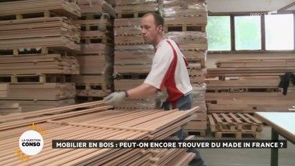 Mobilier en bois : peut-on encore trouver du made in France ?