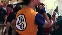Sangoku et son nuage supersonique à la convention Dragoncon