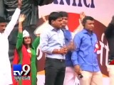 Hardik Patel responsible for Gujarat violence, says Gujarat govt - tv9 Gujarati