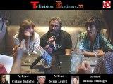 Télévision-Bordeaux-33 rencontre avec les Acteurs du Film de Laurent lafargue les Rois du Monde hôtel Burdicala