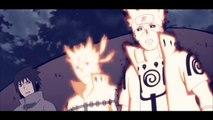 Ten Tails Jinchuuriki VS Minato & Naruto AMV - The End is Near (Anime Music Video)