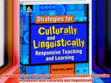 Strategies for Culturally and Linguistically Responsive Teaching and Learning (Professional