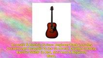 Acoustic Electric Guitars Beginner Pack Dreadnought Acoustic Guitar Sunburst Double