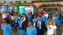 Flash Mob Air Caraïbes - 27 Oct 2012 - Aéroport Pôle Caraïbes, Guadeloupe (PTP)