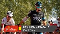 Resumen - Etapa 18 (Roa / Riaza) - La Vuelta a España 2015